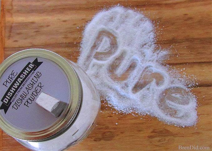 BrenDid Pure Dishwashing Powder
