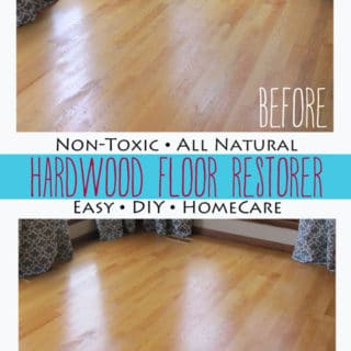 BrenDid All natural non toxic hardwood floor restorer