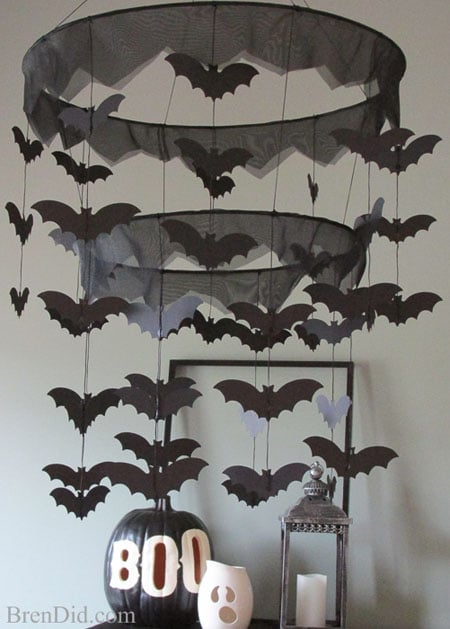 Pb Kids Inspired Bat Halloween Chandelier Bren Did