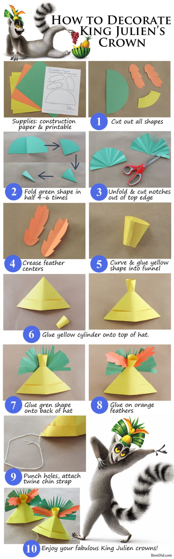 how to make a small hat out of paper