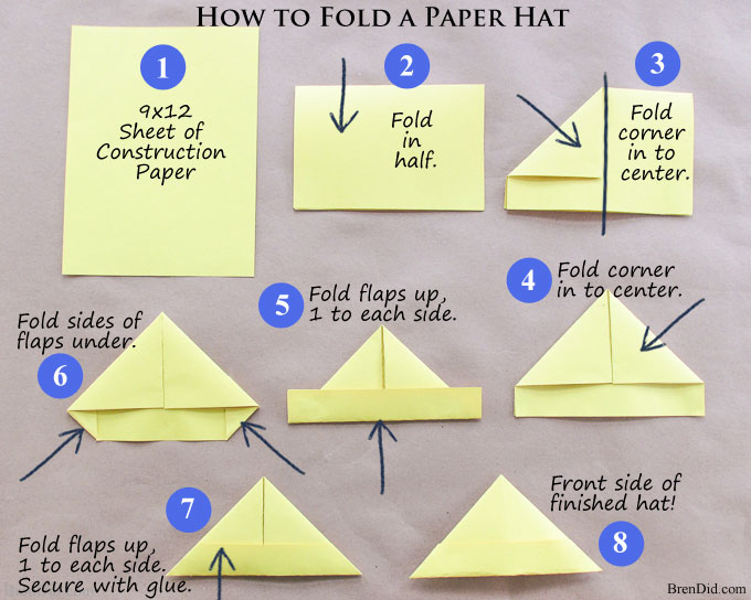 Make A Police Hat Out Of Construction Paper 75e0ad118e04