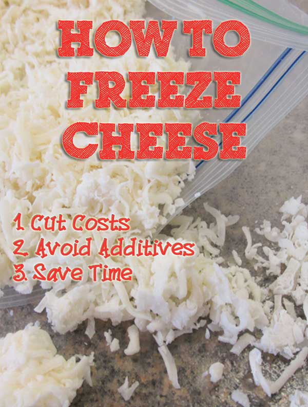 can i freeze cheese
