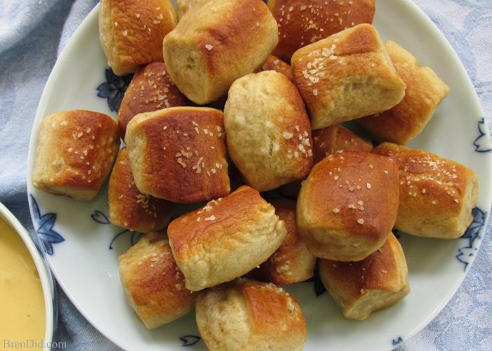 Recipe for Homemade Soft Pretzel Bites – A favorite junk food ...