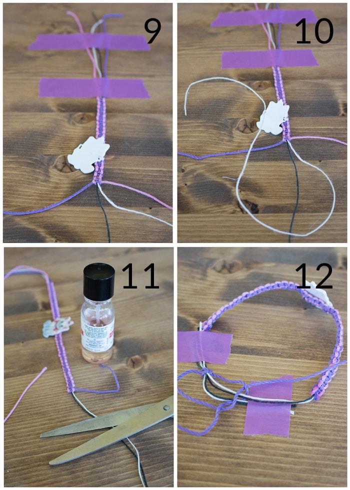 easy disney friendship bracelet instructions bren did