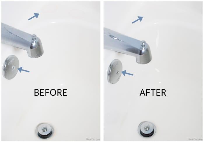 Non Toxic No Scrub Shower Cleaner Bren Did