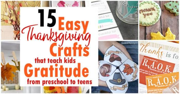 15 Easy Thanksgiving Crafts That Teach Kids Gratitude