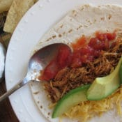 BrenDidHealthy Crock Pot Chicken Tacos Recipe