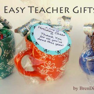 Last Minute Teacher Gifts