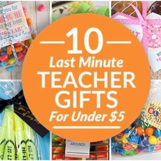 Last Minute Teacher Gifts FB