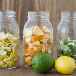 DIY All-Natural Orange Vinegar for Cleaning