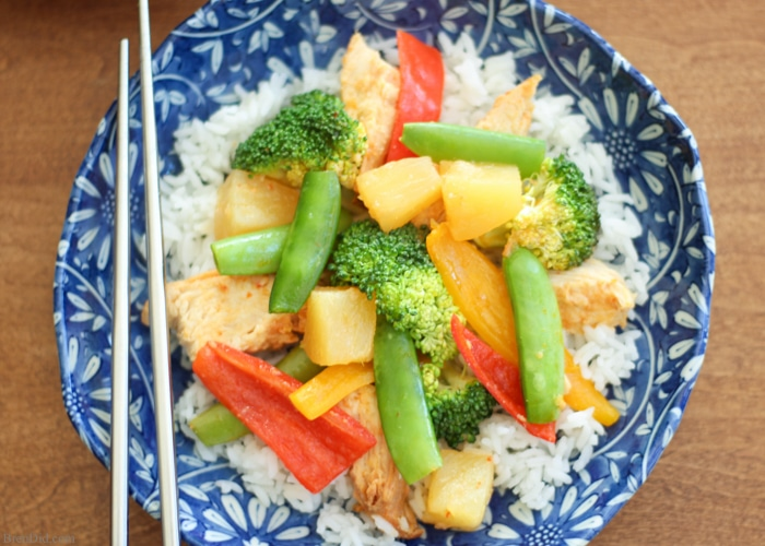 Sweet Chili Pineapple Chicken Easy Slow Cooker Meal