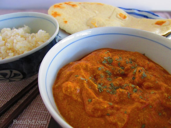 Butter chicken curry recipe easy kid favorite meal brendid butter chicken curry forumfinder Images