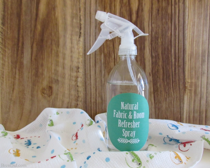 Glass Spray Bottle - BrenDid Room and Fabric Refresher Spray DIY