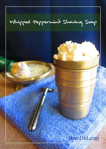 Easy shaving soap recipe. Make your own DIY all natural, non-toxic whipped shaving soap with this easy tutorial that uses just one ingredient!