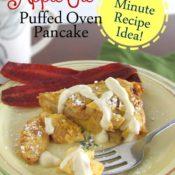 BrenDid Apple Pie Puffed Oven Pancake