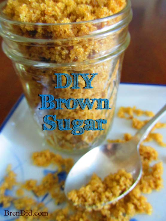 Make Brown Sugar at Home by BrenDid.com