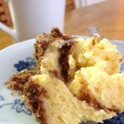 BrenDid Cinnamon Crumb Coffee Cake in a Mug - Delicious coffee cake in 5 minutes when you use your microwave.