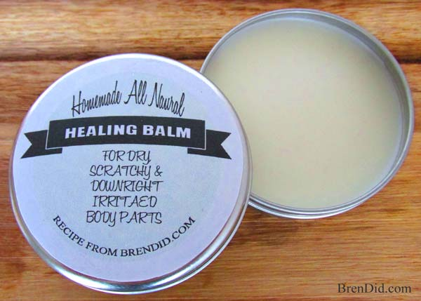 Heal It All Balm from BrenDid.com