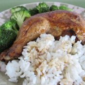 BrenDid Balsamic Soy Roasted Chicken