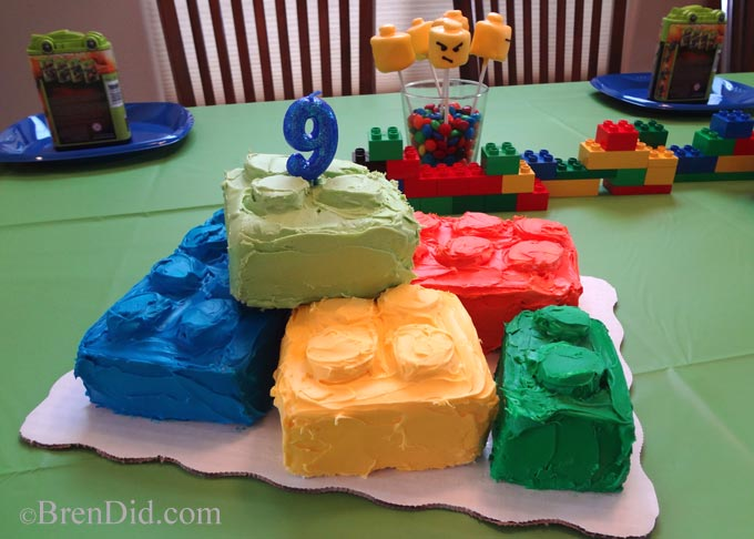 BrenDid Lego Birthday Party