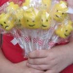 Lego Head Marshmallow Pops Recipe