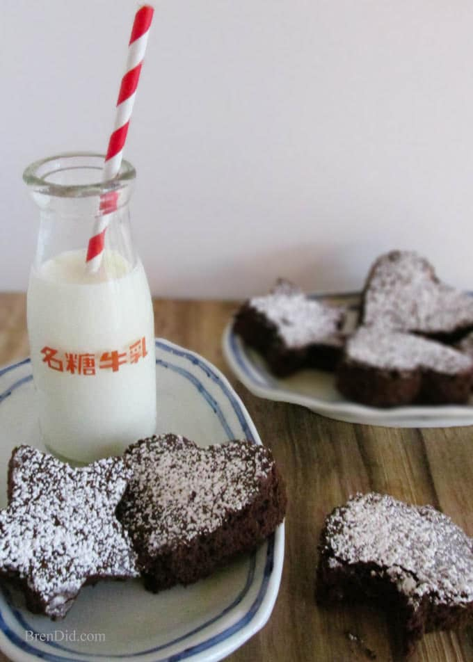 Rich and Chewy Cocoa Brownies - One bowl, less fat and sugar than other recipes and just as delicious!