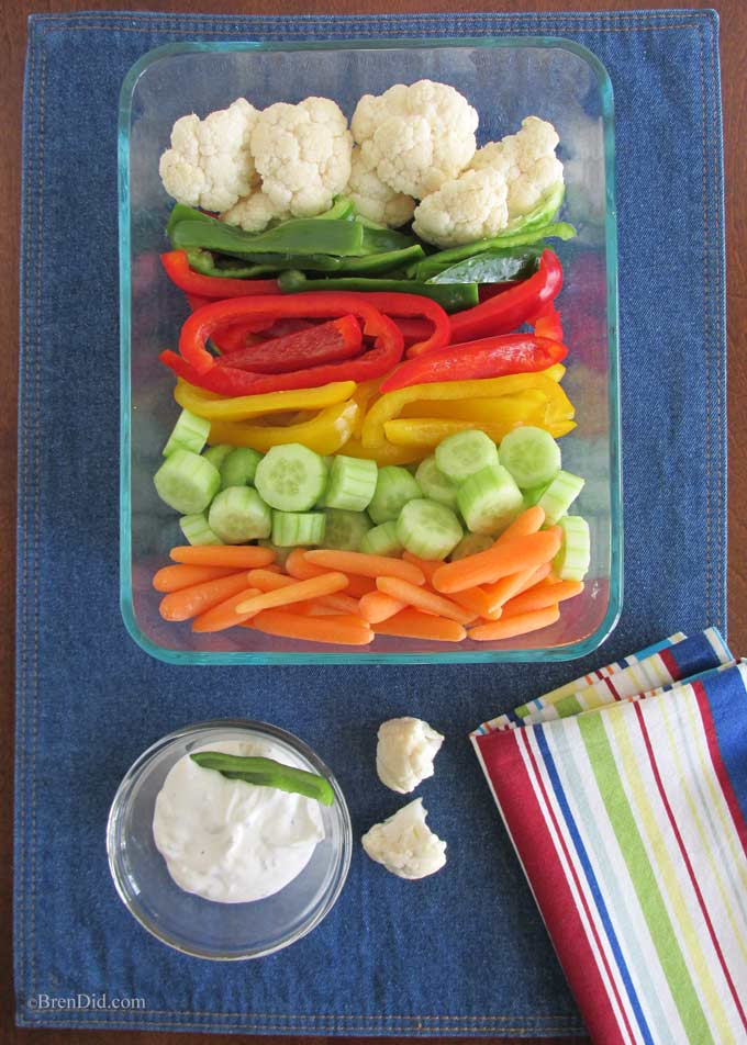 Get your kids to eat more vegetables and healthy with this simple trick from BrenDid.com. Plus a bonus ranch dressing recipe with no MSG!
