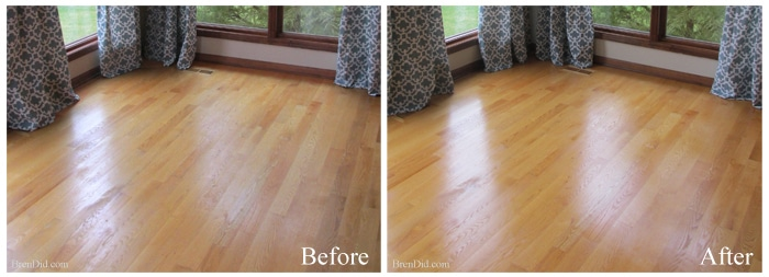 Non Toxic All Natural Restorer For Hardwood Floors Bren Did