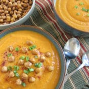 BrenDid Creamy Gingered Sweet Potato Carrot Soup