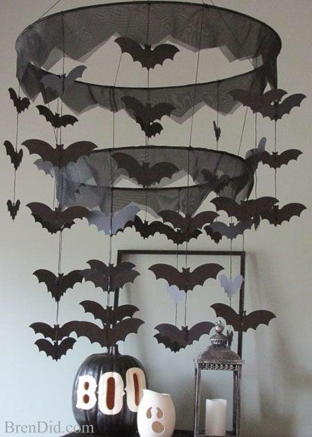 BrenDid Pottery Barn Kids Inspired Bat Chandelier