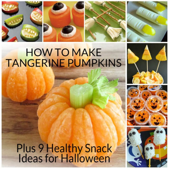 How to Make Tangerine Pumpkins & 8 Other Healthy Halloween Treats ...