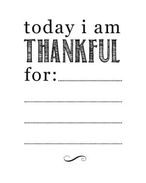 image about I Am Thankful for Printable referred to as Thanksgiving Crafts Dry Erase Board Totally free Printable - Bren Did