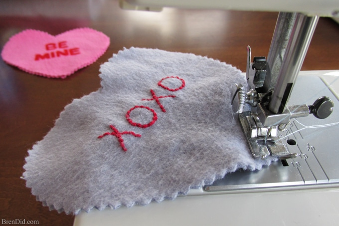 Easy Valentine's Day Craft: Conversation Heart Microwave Homemade Heating Pad - These easy to make heating pads are filled with whole grain rice or kosher salt. They can be heated by placing them in the microwaveor placed in the freezer to use as cool packs. They are all natural, reusable and much healthier than using a chemical filled self warming heat or cold pack.