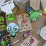 Zombie Apocalypse Craft & Free Printable Valentine Cards