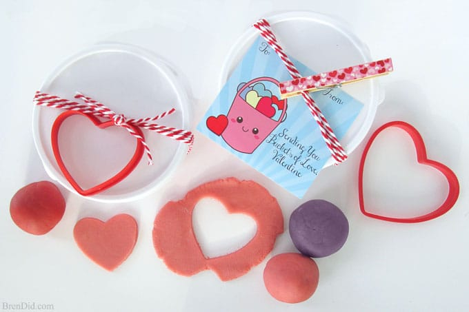 photo relating to Printable Valentines Craft called Buckets of Appreciate No cost Printable Valentine Playing cards and Selfmade