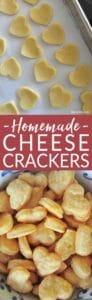 Homemade Chesee Crackers from Bren Did