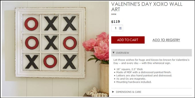 PB-Inspired--XOXO-Wall-Art-Tick-Tac-Toe