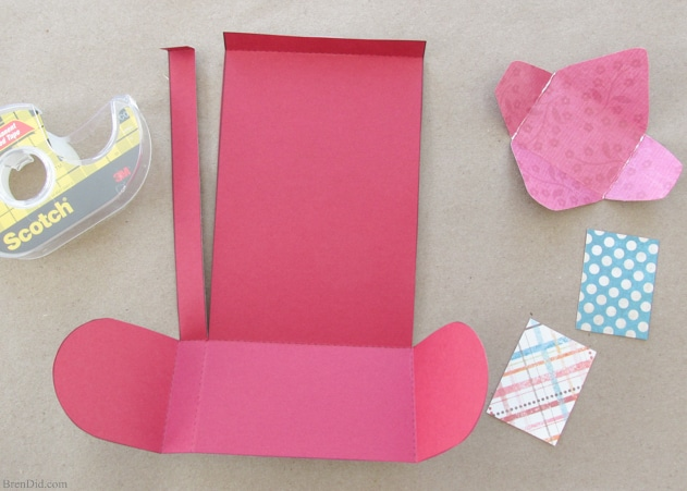 Send The Sweetest Love Notes With This Valentine Paper Craft Set Featuring  A Free Printable Mailbox