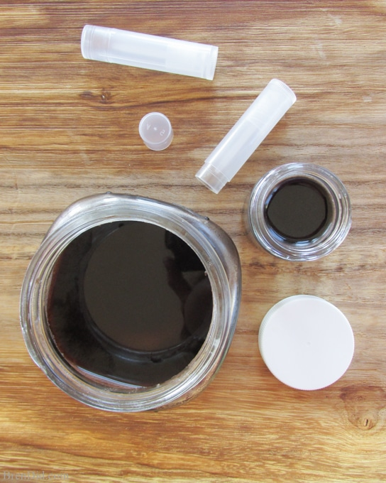 All-Natural Chocolate Cupcake Lip Balm is an easy and fun DIY project that only takes a few minutes PLUS it makes non toxic lip balm that contains no artificial coloring, flavors or ingredients. Try this easy recipe to see how easy and cost effective it is to make your own beauty products.
