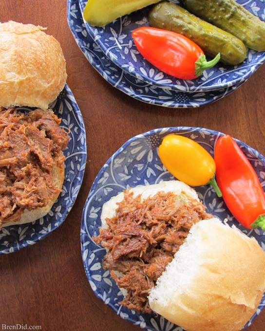 Easy Crock Pot Dinners Braised Beef Barbeque-15