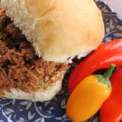 Braised Beef Barbecue easy crock pot recipe