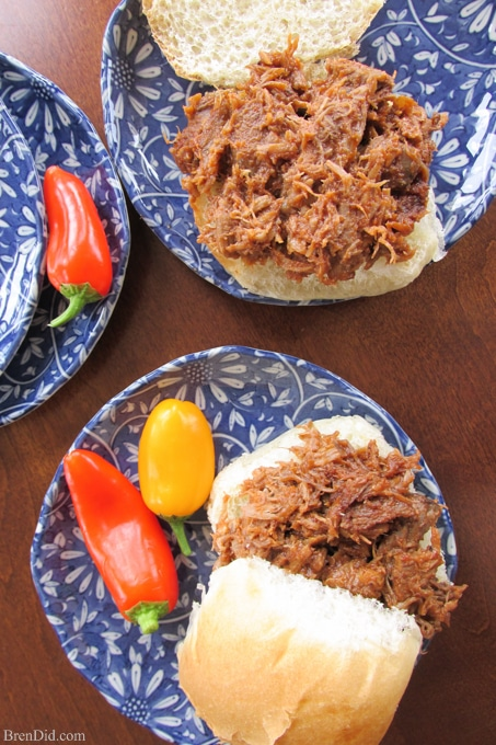 Easy Crock Pot Dinners Braised Beef Barbeque-9