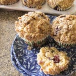 Healthy Snacks: Best Blueberry Streusel Muffins Recipe
