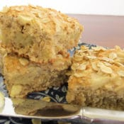 Easy Apple Oatmeal Scones on plate