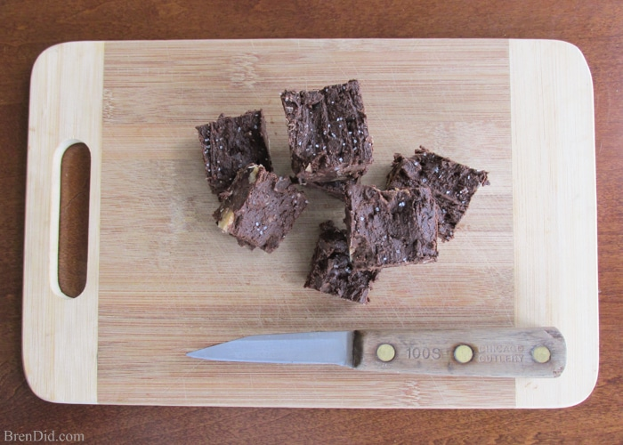 This recipe for easy chocolate fudge combines coconut oil and cocoa powder into a simple, tasty, and HEALTHY fudge.