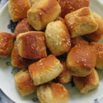 Recipe for Homemade Soft Pretzel Bites