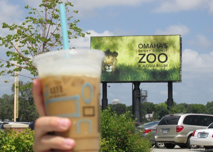 Caribou Coffee Adventure at the zoo