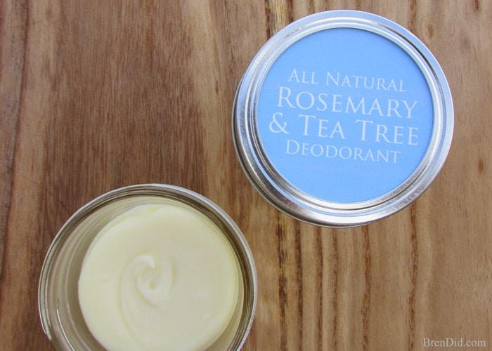 Make natural deodorant