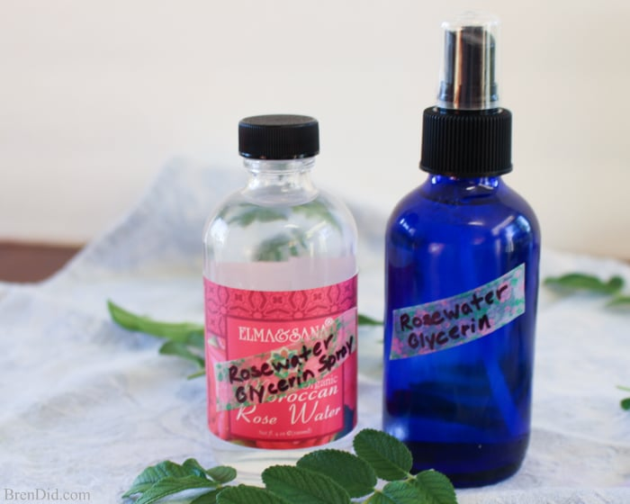 Two Ingredient Natural Body Spray - Making all natural body spray takes only two ingredients and costs less than $2! This body mist can be used as a moisturizing body spray, as a scrunch spray to refresh curls or style beach waves, as a facial mist to set makeup, as a skin toner, as after sun spray, and as a body and hair perfume.