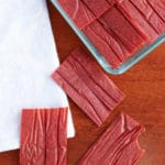 Wild Plum Fruit Leather Using No Refined Sugar